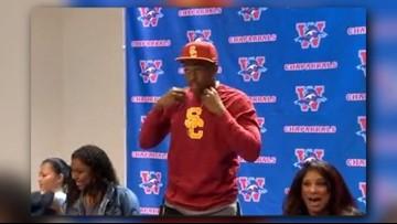 Levi Jones, son of Cowboys Super Bowl champ, dismissed from USC football team