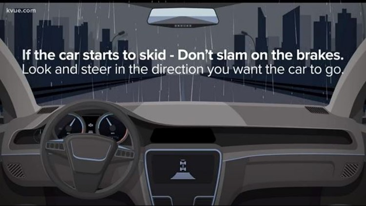 Austin drivers + wet roads = unsafe, report shows