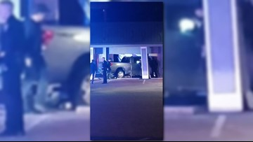 Drunk driver crashed truck into business near UT campus, police say