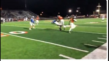 Was that viral hit between Hutto and McCallum a clean block? We took a closer look.