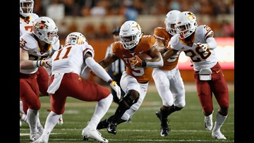 Texas Longhorns rise to No. 11 in AP Poll