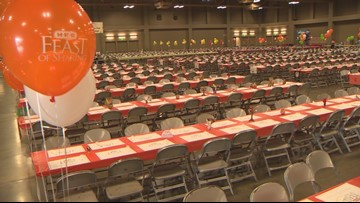 'We're ready': H-E-B serving thousands of free meals in Austin before Thanksgiving