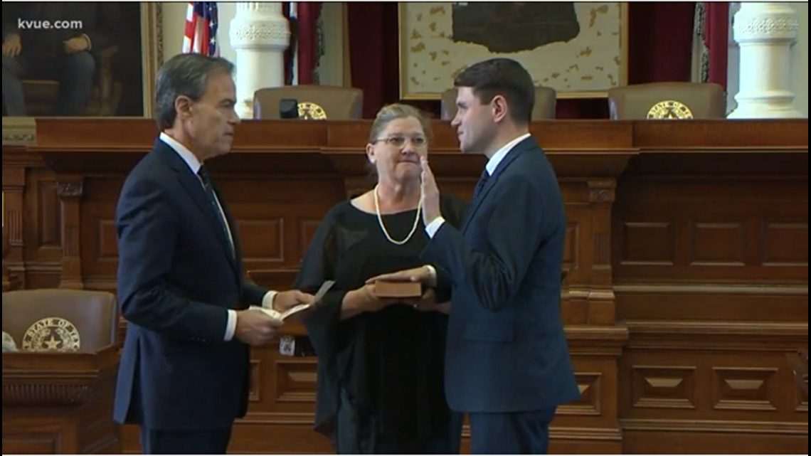 Round Rock Rep. James Talarico becomes youngest member of the Texas House