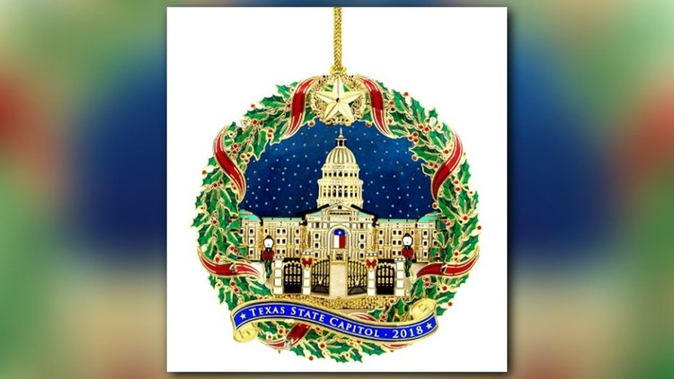 The 2018 Texas State Capitol Ornament Is Now On Sale