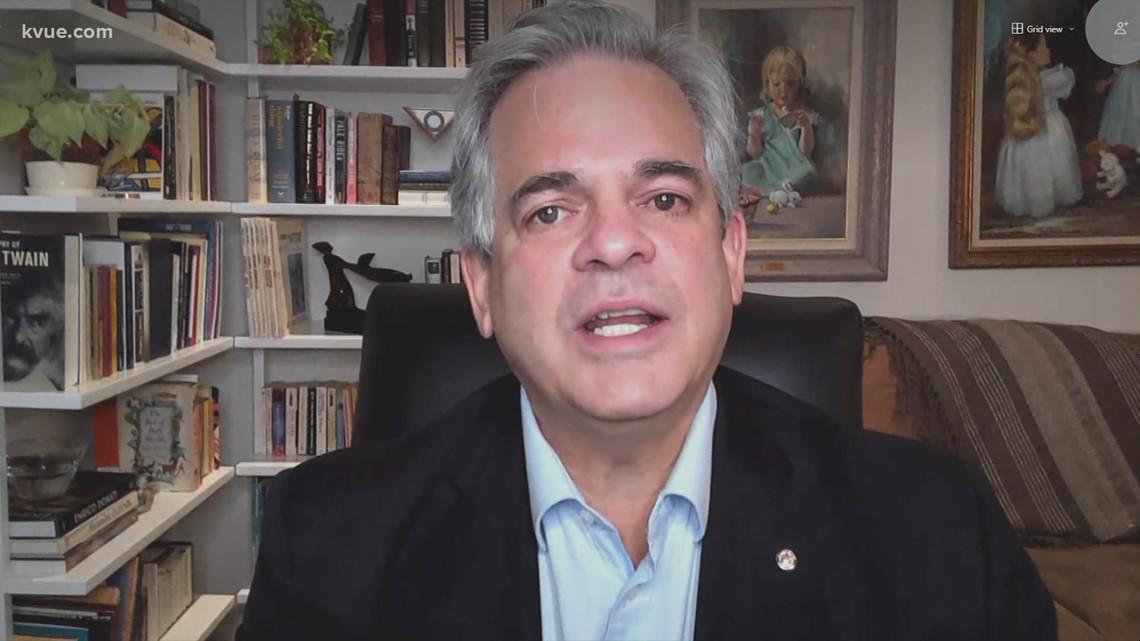 Mayor Steve Adler addresses violent crime across Austin