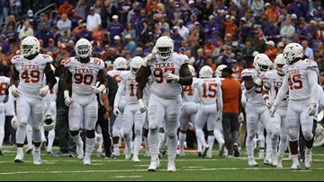 Five Texas Longhorns named All-Big 12 by Associated Press