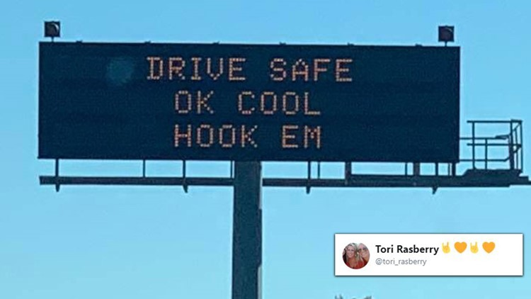 'OK, cool! Hook Em' is college football's top quote this season
