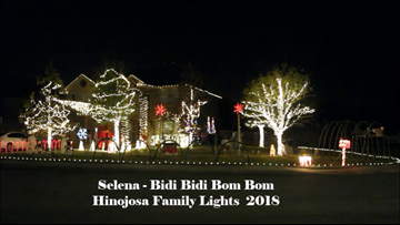 Meet the Boerne family behind the viral 'Selena' Christmas Light show