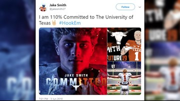 Future Longhorn named Gatorade National Player of the Year