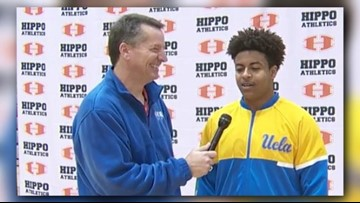 Signing Day at Hutto: Chase Griffin goes to UCLA