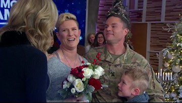 Grab a tissue! Video shows Fort Hood soldier's reunion with family on GMA