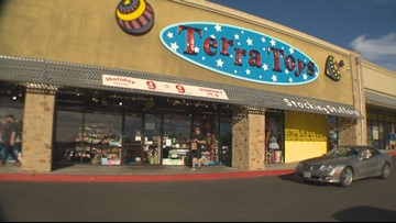 Last minute holiday shopping leads to a busy weekend for Terra Toys in North Austin