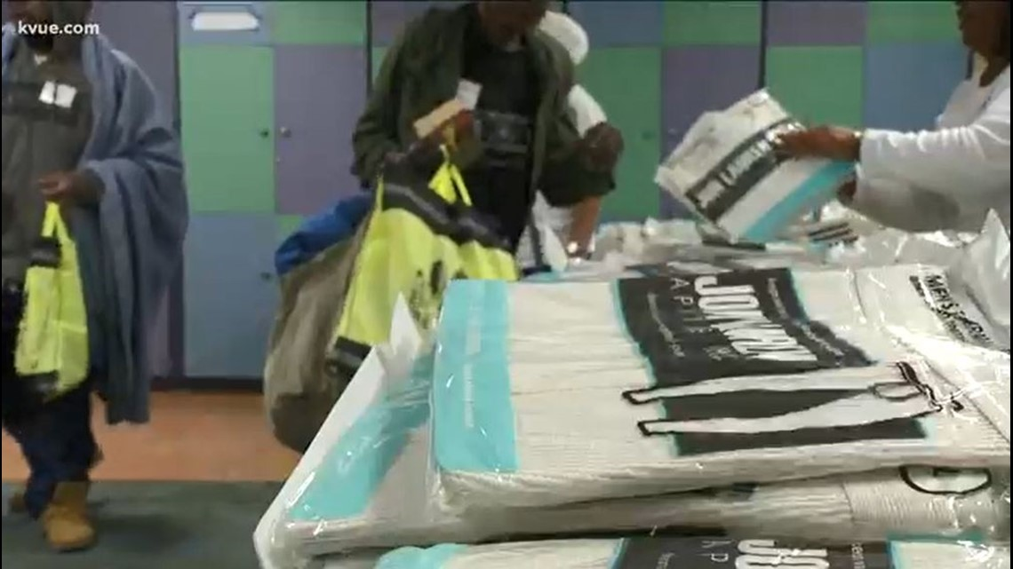 New year brings new start -- and warm clothes -- for Austin homeless