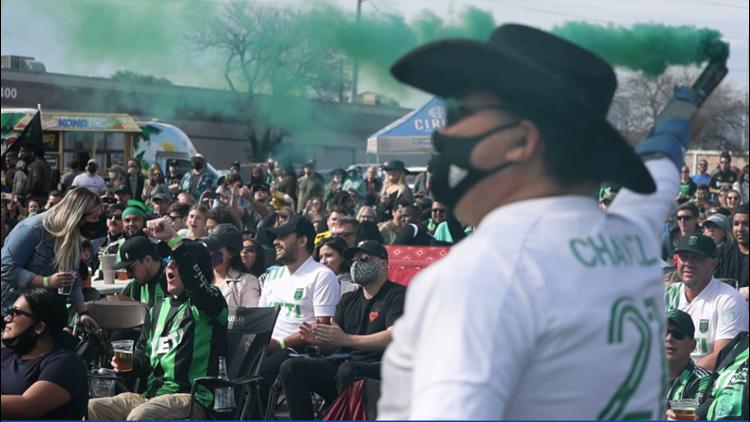 Austin FC watch parties show glimpses of post-pandemic social gatherings
