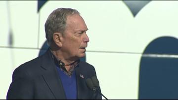Michael Bloomberg visits Austin