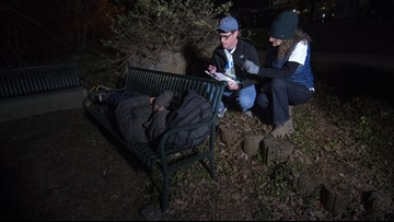 'These people are heroes' | Austin mayor joins hundreds of volunteers counting the homeless for 2020 Point In Time Count