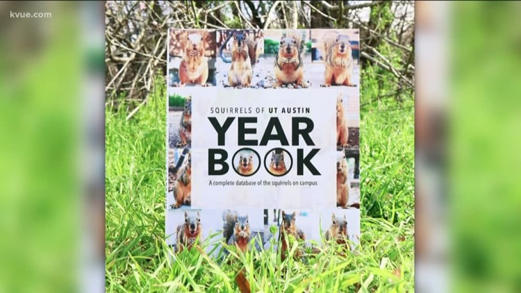 Students create yearbook featuring UT squirrels