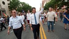 Presidential candidate Pete Buttigieg marches with Austin mayor at Austin Pride Parade