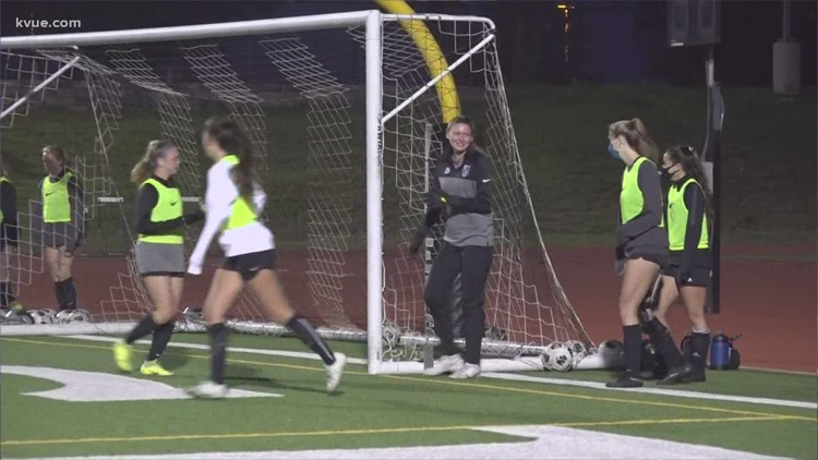 17 of the 24 players on Vandegrift's girls soccer team are seniors