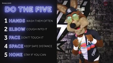 'Do the Five' song aims to prevent coronavirus spread