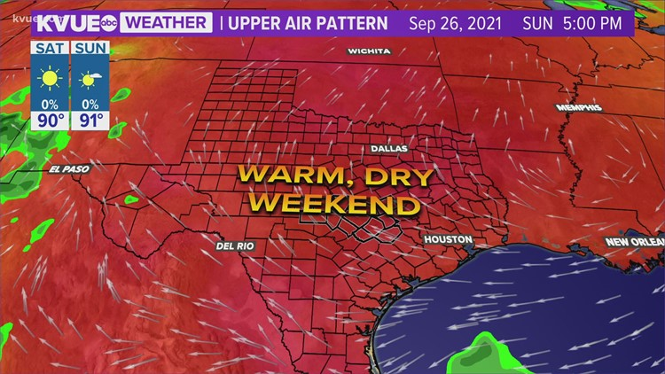 Austin-area weather: September 24 evening forecast with Chief Meteorologist Erika Lopez