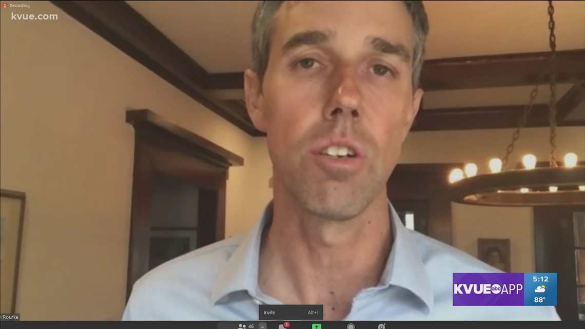 Beto O'Rourke joins Texas Democrats in virtual roundtable