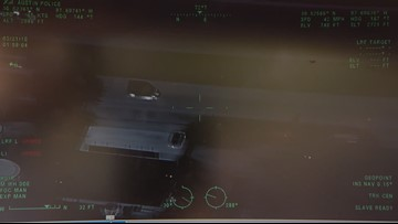 APD releases its own helicopter video showing moments before Austin serial bomber killed himself
