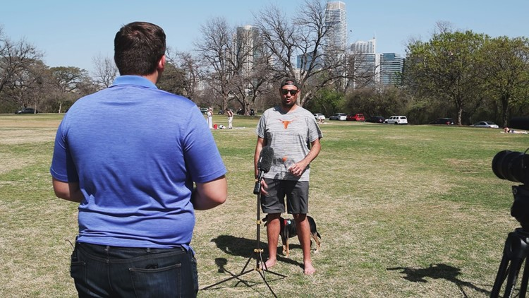'We can all look forward to that bright future' | People in Zilker Park share their good news
