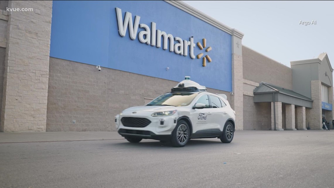Self-driving Walmart delivery coming to Austin