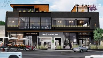 Mixed-use development fills up empty lot on South Congress