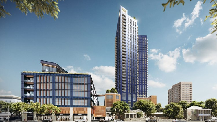 The country's largest apartment operator is building a 32-story tower in a 'truly unique' Downtown Austin site