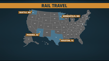 Mass transit: How Austin compares to other cities with light rail systems
