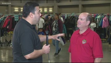 Live from Coats For Kids Distribution Day 2019 with Paul Brown of Jack Brown Cleaners
