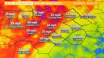 Hang on to your hats!  Saturday morning front brings windy start to the weekend
