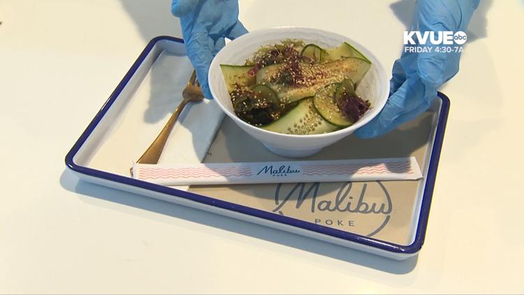Malibu Poke makes splash in Austin with tasty seafood, veggie bowls