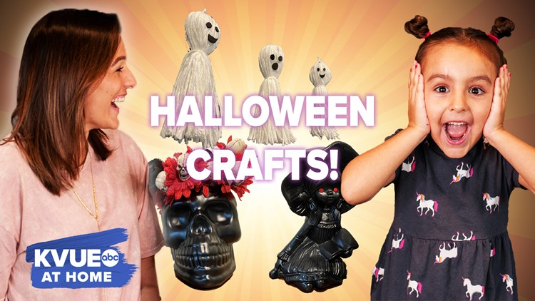 KVUE at Home: Spooky Halloween Crafts