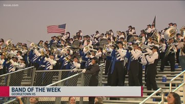 KVUE's Friday Football Fever Band of the Week – Nov. 8