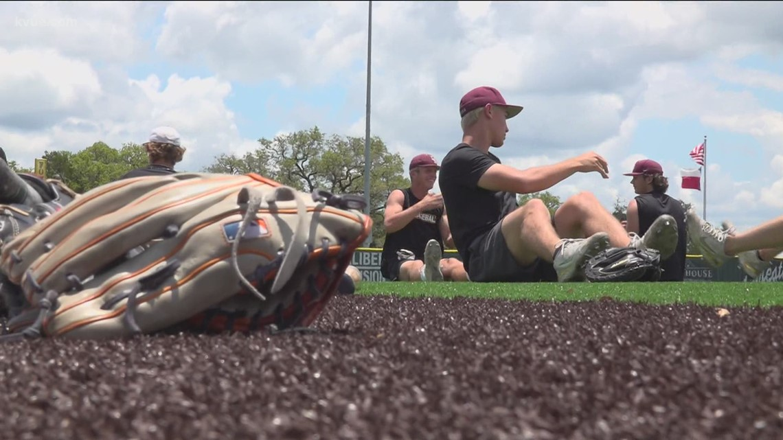 Dripping Springs vs. Rouse in 5A high school baseball matchup