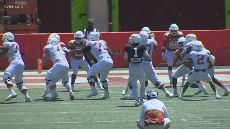 Texas Football's Coach Sark is confident in team's playmaking ability