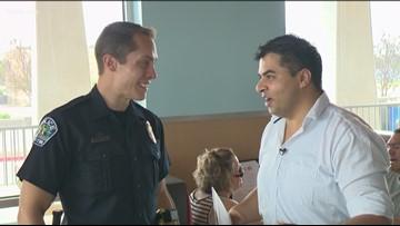 Good Samaritan helps Austin police officer