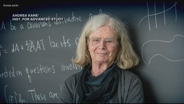 UT math professor earns prestigious award