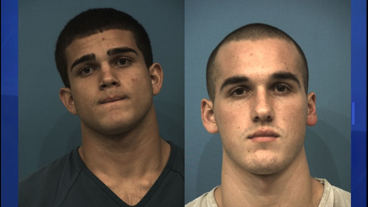 Booking photos of Johnathan McCarty on Sept. 22, 2014 and Greg Kelley on Sept. 12, 2014.