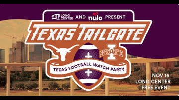 Need a place to watch the Texas-Iowa State game? Here's a free, dog-friendly watch party available this weekend