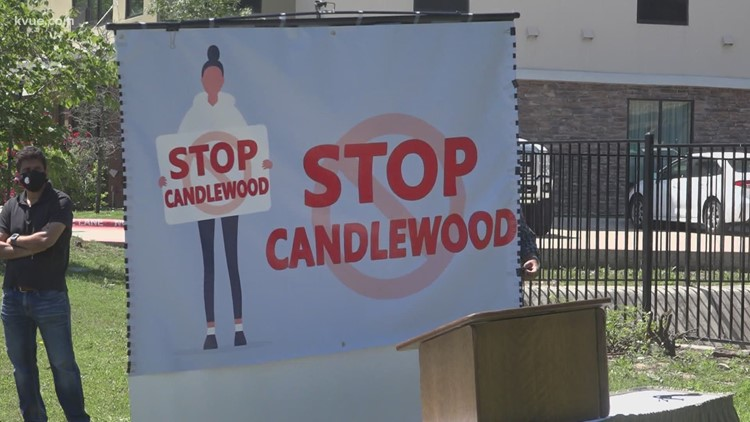 Stop Candlewood group to deliver community letters to Austin City Council advising against hotel purchase