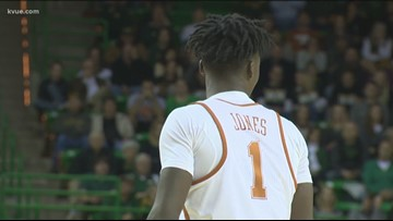 'Andrew Jones is unstoppable' | Purdue fans honor Longhorn basketball player who survived cancer