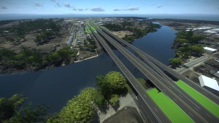 SH 71 Bridge rendering