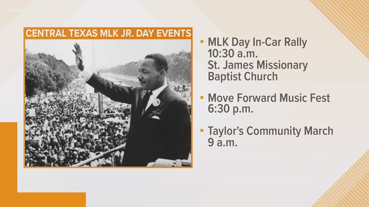 Celebrating Martin Luther King Jr. Day 2021 in the Austin area