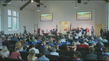 Sutherland Springs church dedication honors victims of tragedy