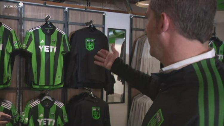 Austin FC opens downtown retail store