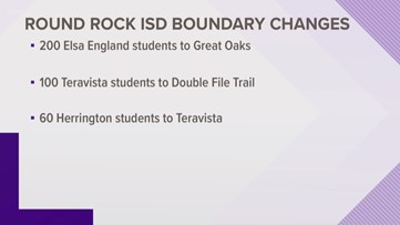 Round Rock ISD approves boundary changes